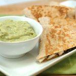 Receta de las quesadillas con guacamole