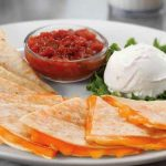 Receta Quesadillas rellenas de queso estilo mejicano