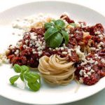 Espaguetis a la boloñesa, el clásico que no falla