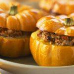 Recetas para calabaza en Halloween: calabaza rellena