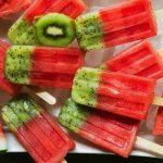 Polos de fruta caseros, el sabor natural para el verano