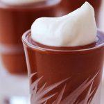 Pudding de chocolate, una receta única de intenso chocolate