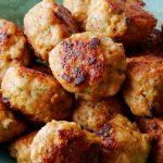 Albóndigas de pollo, tiernas, jugosas y deliciosas