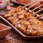 Pollo satay, una receta tailandesa irresistiblemente picante